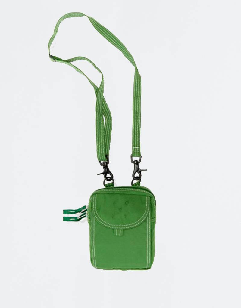 Pop Trading Company Passport Pouch Sport Green