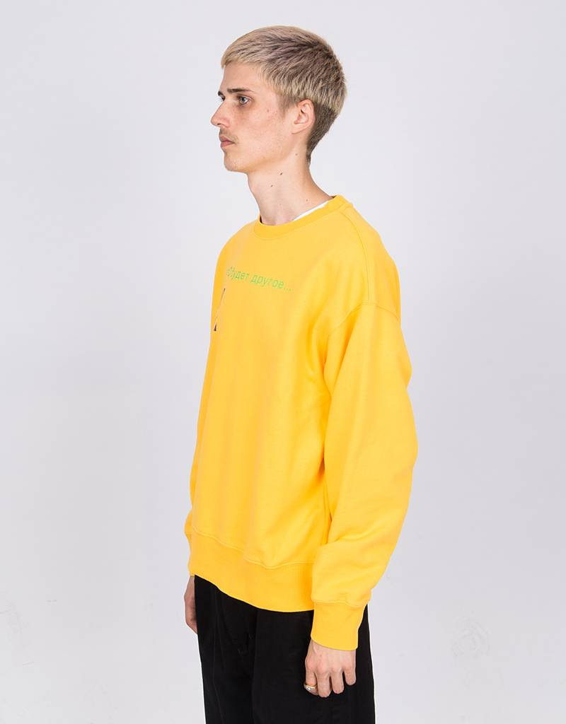 Paccbet Crewneck It Will Be different Yellow