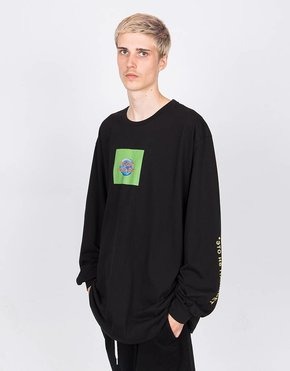 paccbet Paccbet Longsleeve T-shirt This is not Paccbet Black