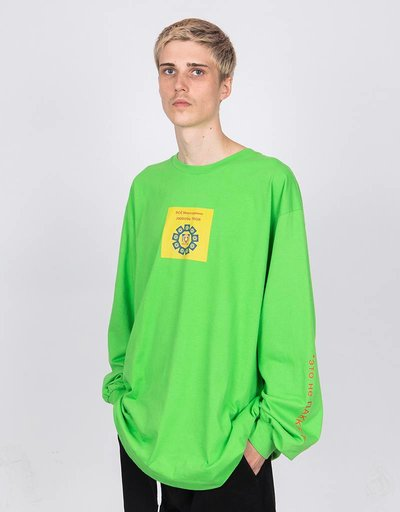 Paccbet Longsleeve T-shirt This is not Paccbet Green