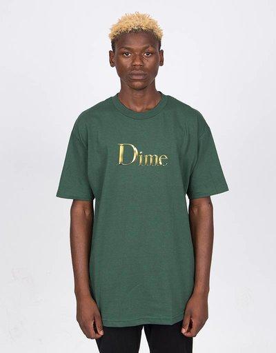 Dime Legendary Logo T-Shirt Emerald Green