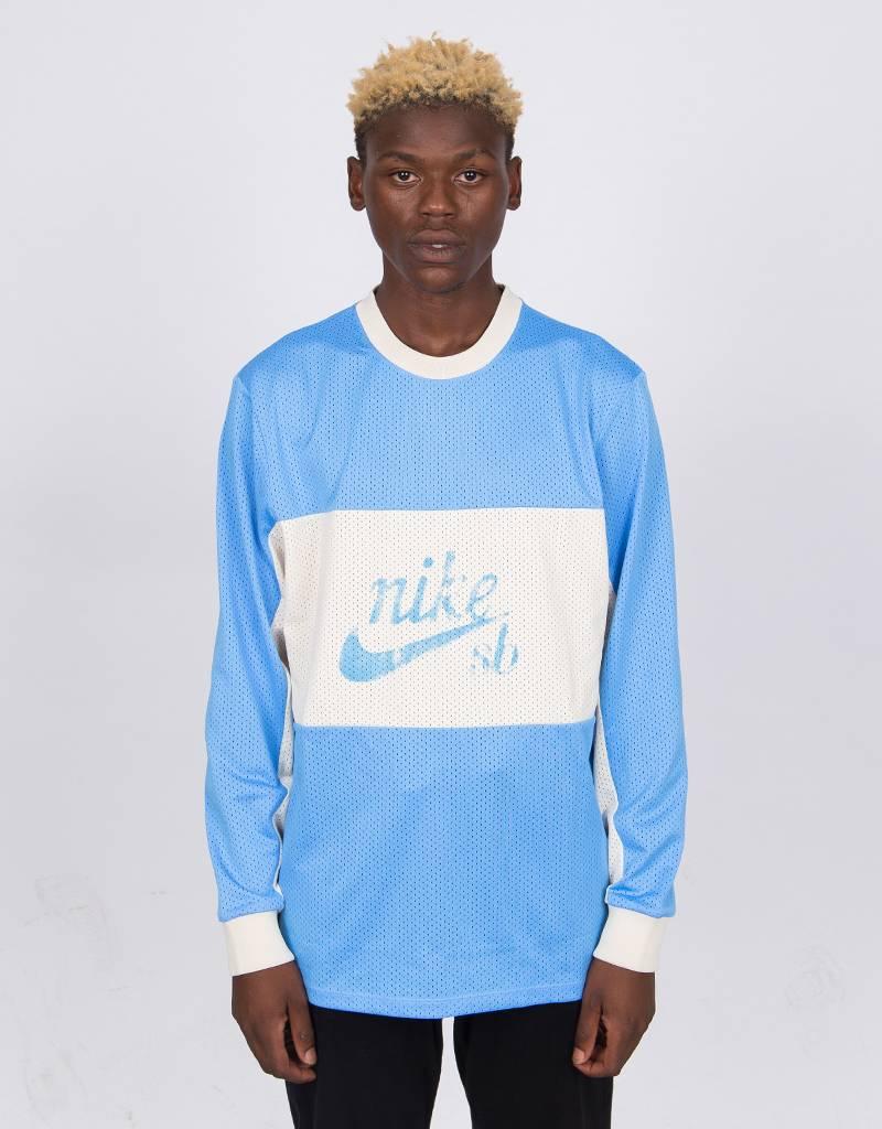 Nike SB Dry Longsleeve T-shirt University Blue/University Blue