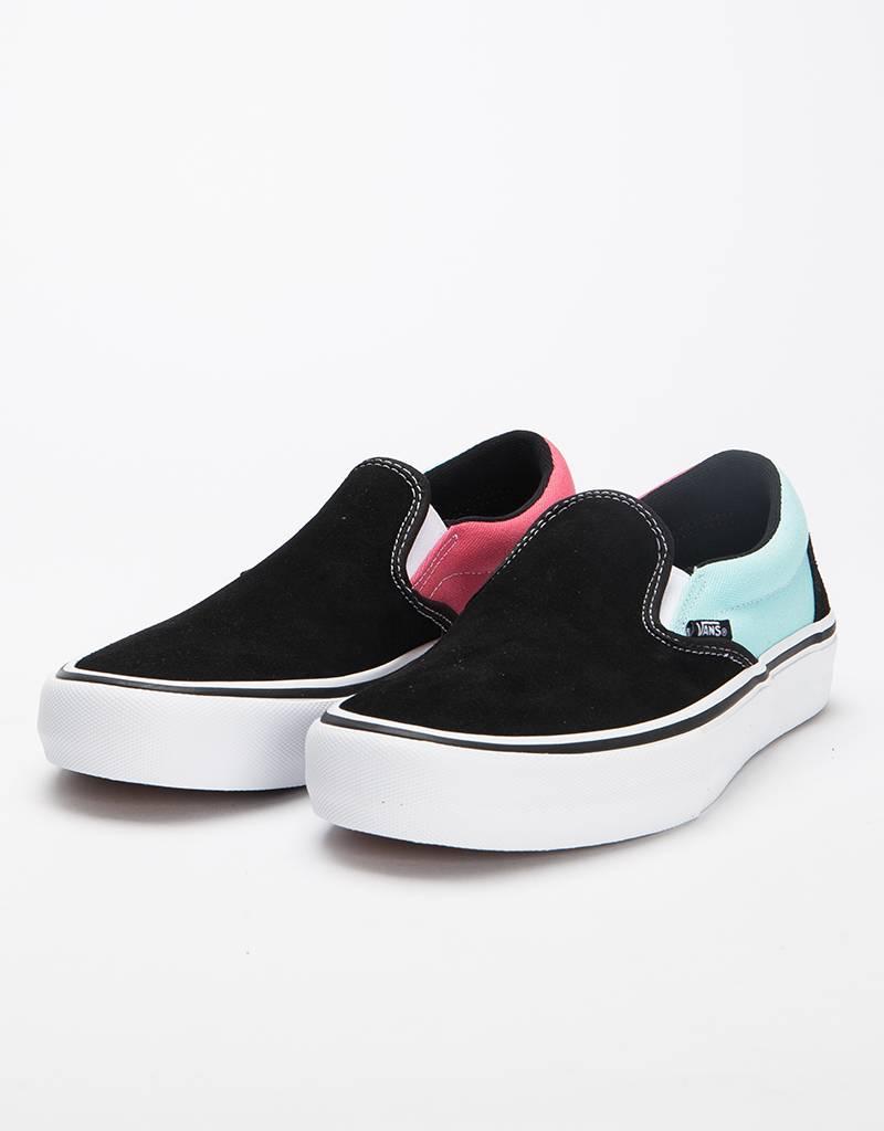 Vans Slipon Pro Asymmetry Black/Blue/red