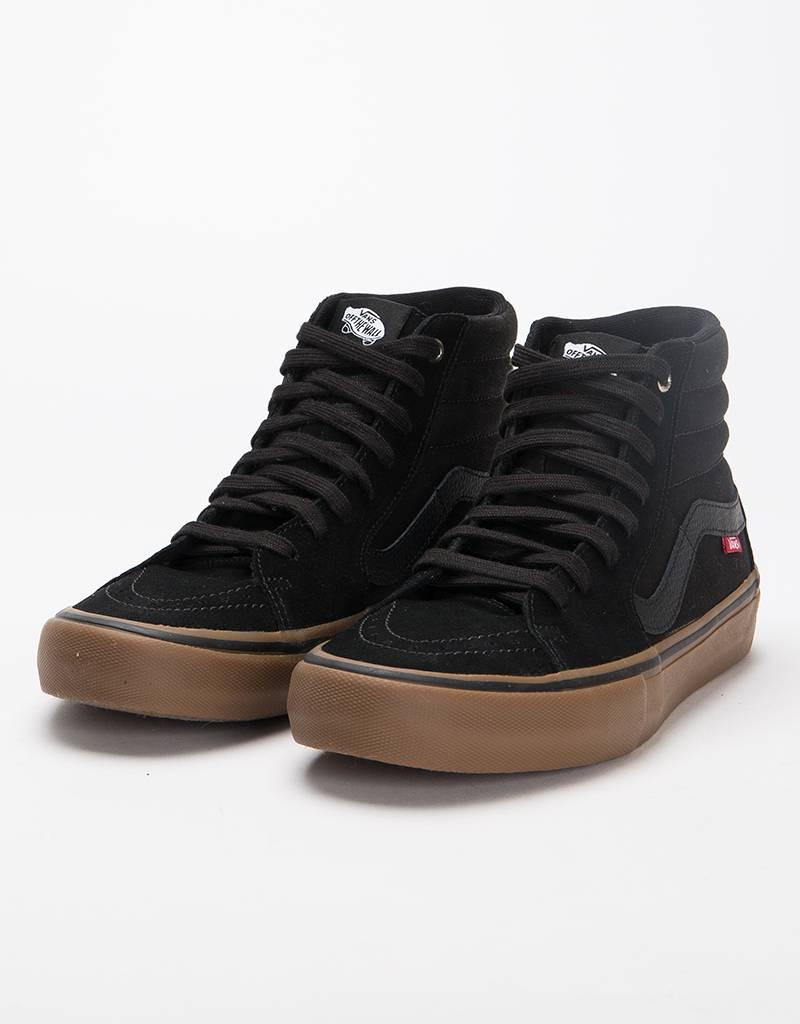 Vans Sk8 Hi Pro Black/Gum
