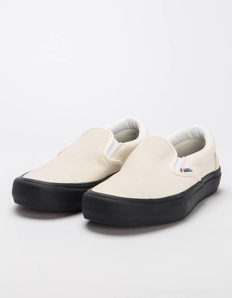 49569976d2 Vans Slipon Pro Classic White Black - Lockwood Skateshop