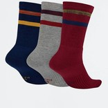 Nike SB Crew Socks 3 Pair Multi-Color