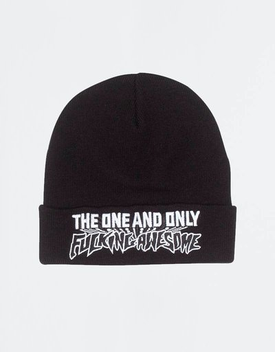 Fucking Awesome One & Only Beanie Black
