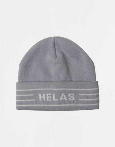 Helas Bonnet Beanie Light Grey