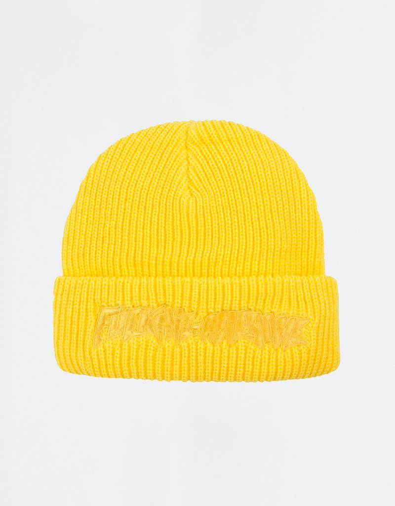 Fucking Awesome Tonal Beanie Yellow