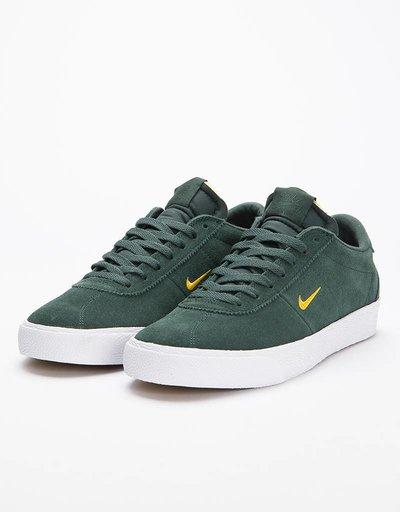 Nike SB Zoom Bruin  Midnight Green/Yellow Ochre/White