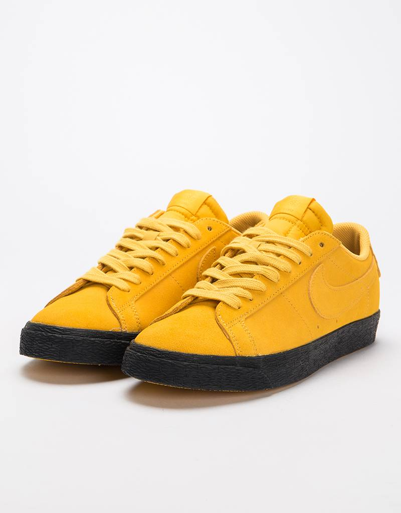huge discount 90af5 161e4 ... coupon code for nike sb zoom blazer low yellow ochre black lockwood  skateshop d6791 6982b