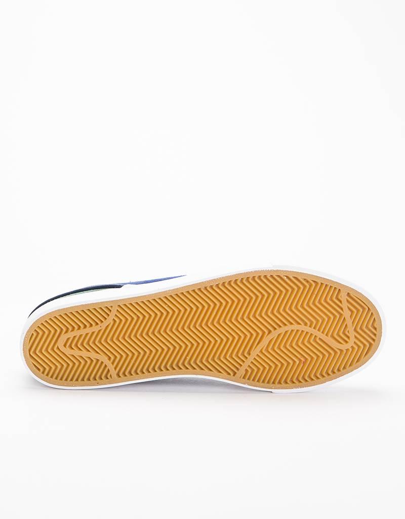 Nike SB Zoom Janoski Yellow Ochre/Midnight Green/Habanero Red/Blue Void
