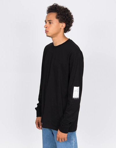 Futur Double Longsleeve Black