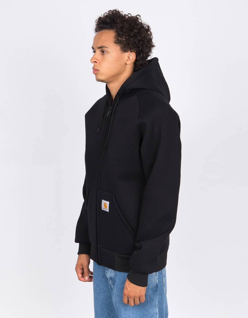 Carhartt Car-Lux Hooded Jacket Black/Grey
