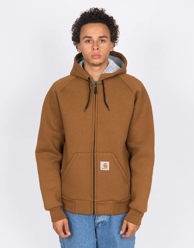 Carhartt Car-Lux Hooded Jacket Hamilton Brown