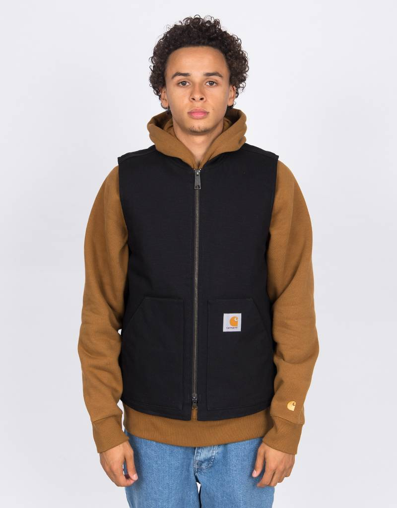Carhartt Vest Cotton Black Rigid