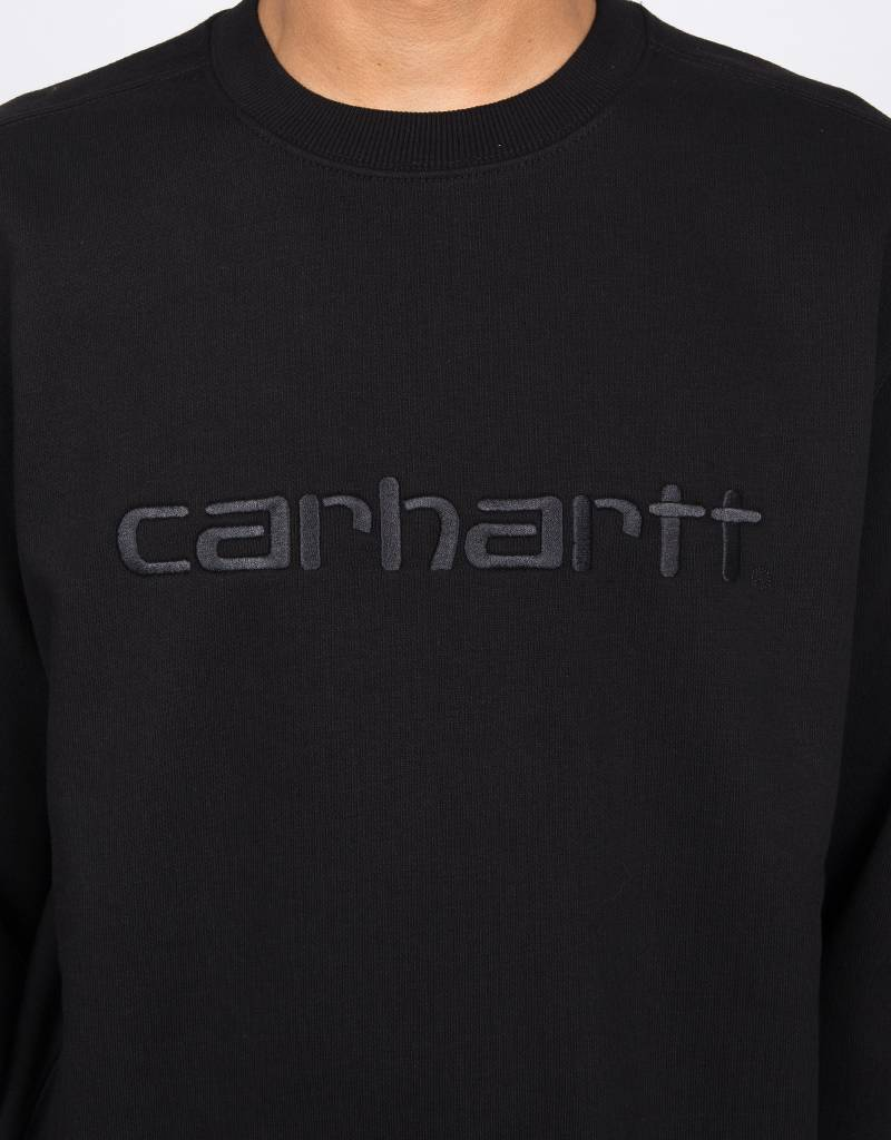 Carhartt Script Sweater Black