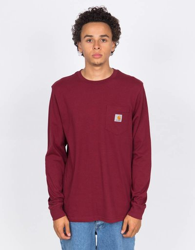 Carhartt Pocket Longsleeve Mulberry