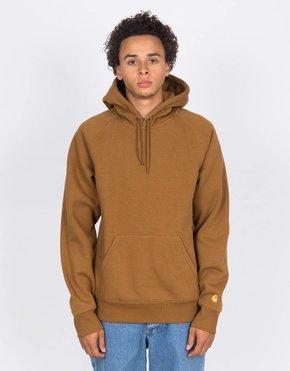 Carhartt Carhartt Hooded Chase Sweater Hamilton Brown