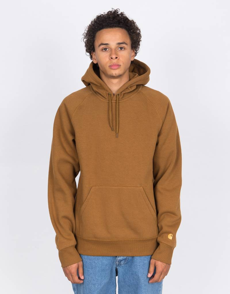 Carhartt Hooded Chase Sweater Hamilton Brown