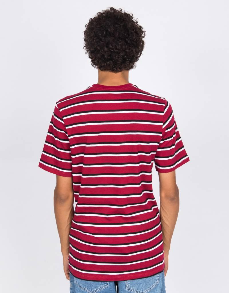 Nike SB JDI Stripe T-Shirt Red/Black/White