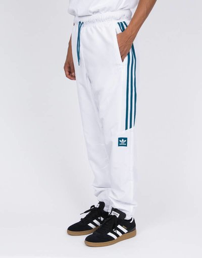 adidas Classic Pants White/Teal