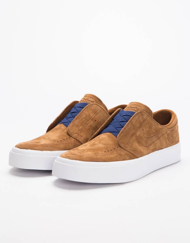 1be8a0a1112 Nike SB Zoom Janoski HT Slip lt british tan lt british tan-blue void -  Lockwood Skateshop