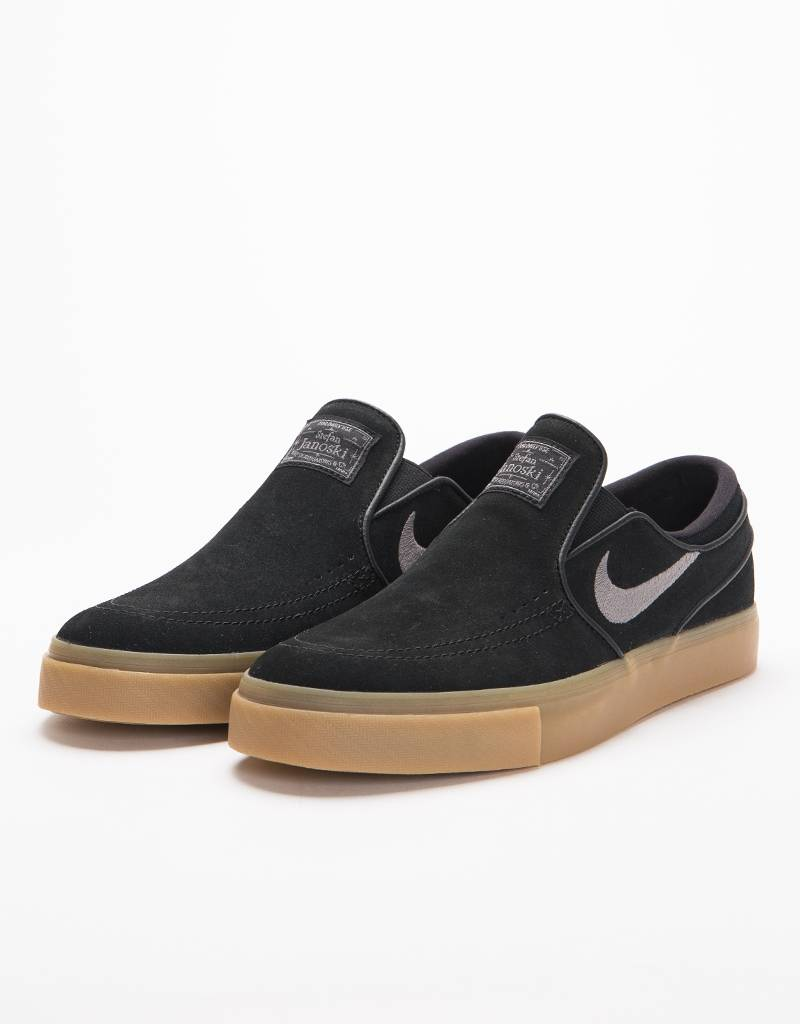 76e20745079 Nike SB Zoom Stefan Janoski Slip black gunsmoke-gum light brown - Lockwood  Skateshop