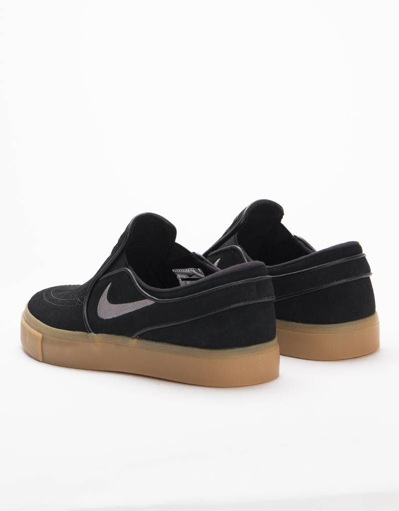 c11cd4515 Nike SB Zoom Stefan Janoski Slip black gunsmoke-gum light brown - Lockwood  Skateshop