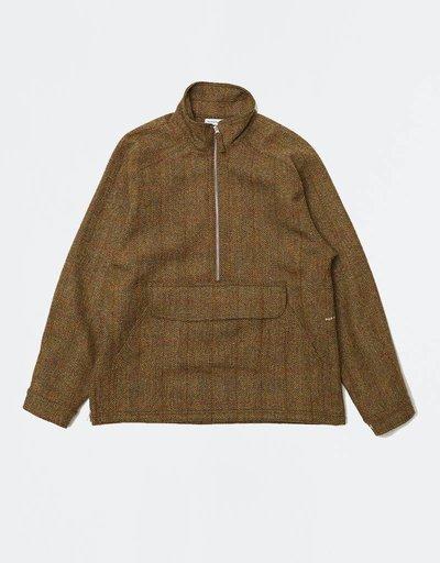Pop Trading Company DRS Halfzip Jacket Harrid Tweed