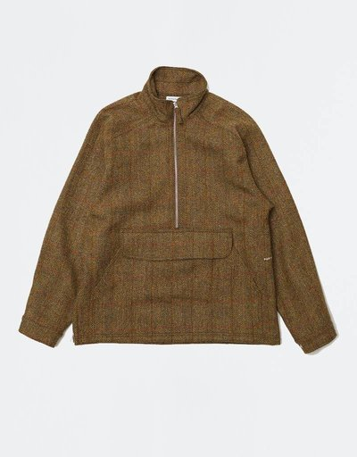 Pop Trading Company DRS Halfzip Jacket Harris Tweed