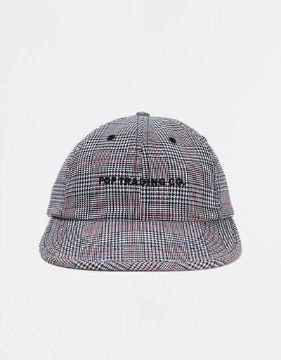 Pop Trading Company Plaid Flexfoam Cap Red/White