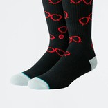 Stance x CPH Open Heart Glasses Socks Black