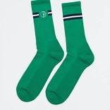 Polar Stroke Logo Socks Green/White/Navy