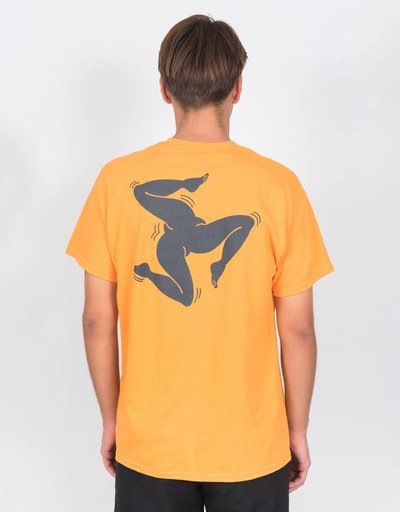 Call Me 917 Surf Legs T-Shirt Orange