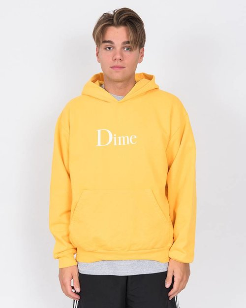 Dime Dime Classic Logo Hoodie Gold