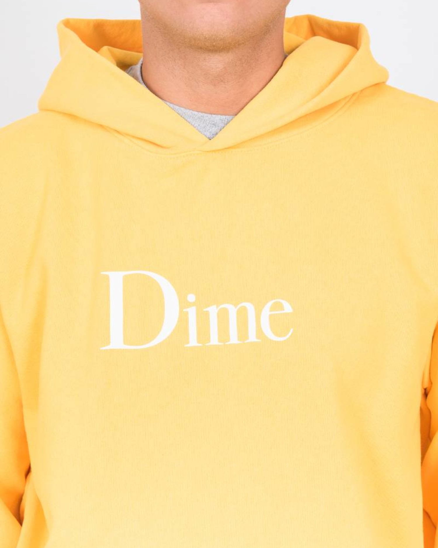 Dime Classic Logo Hoodie Gold