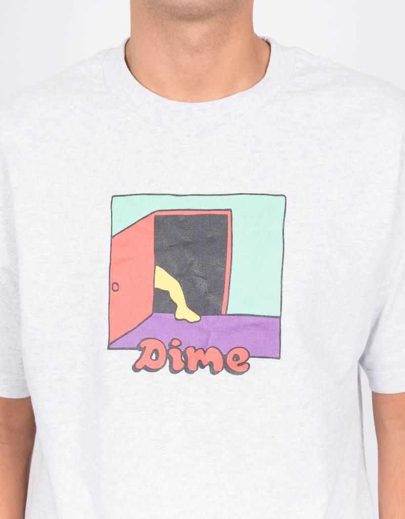 Dime Entrance T-Shirt Ash Grey