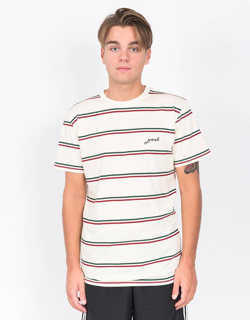Post Details Classic Striped T-Shirt Off-White