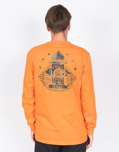 Post Details Hydrant Longsleeve Orange