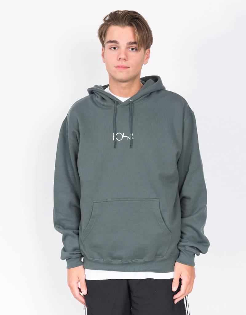 Polar Stroke Logo Hoodie Grey/Green