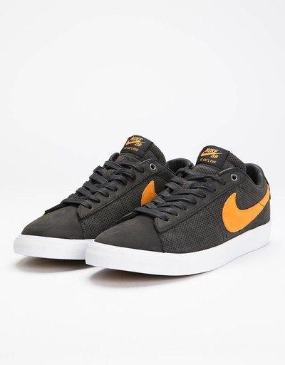Nike SB Zoom Blazer Low GT QS ‰Û÷Cats Paw‰Ûª Black/Orange/White