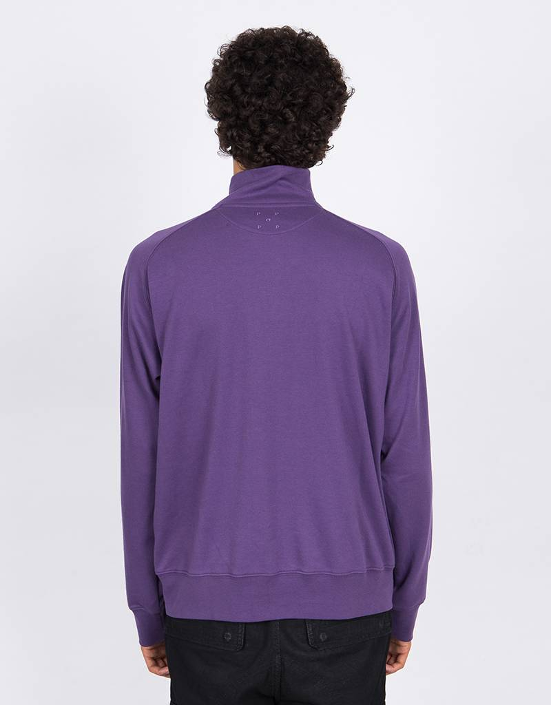 Pop Trading Company Sportswear Lightweight Halfzip Eggplant