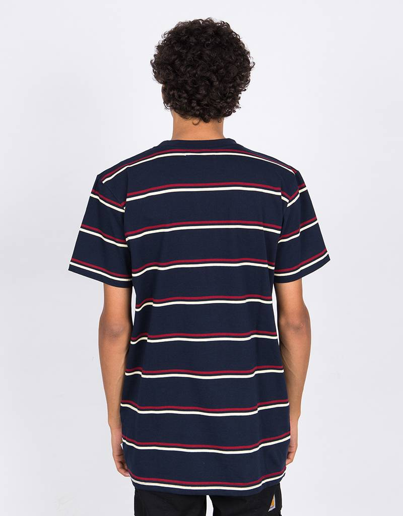 Post Details Classic Striped T-shirt Navy