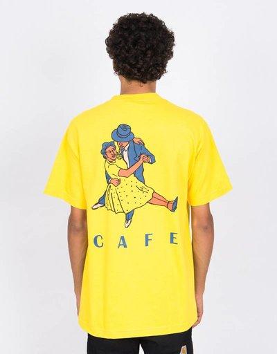Skateboard Cafe Dancers T-Shirt Yellow