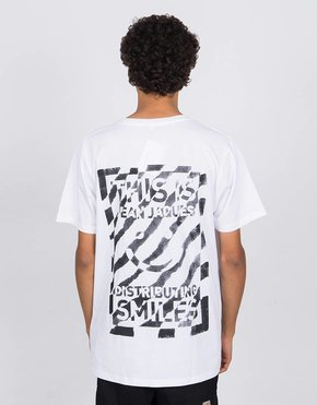 Jean Jaques Jean  Jaques Zebra T-Shirt White