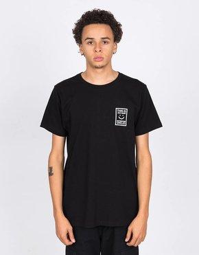 Jean  Jaques Basic Logo T-Shirt Black