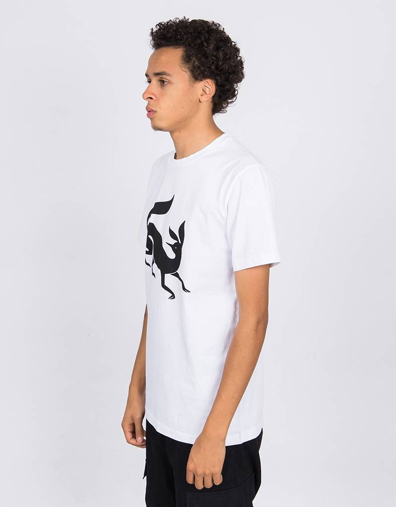 Parra Confused Fox  T-Shirt White