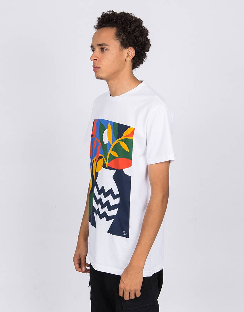 Parra Still Life With Plant T-Shirt White