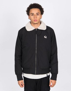 Parra Parra Topper Harley Scared Fox Jacket Black